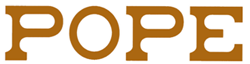 Pope complementos logo