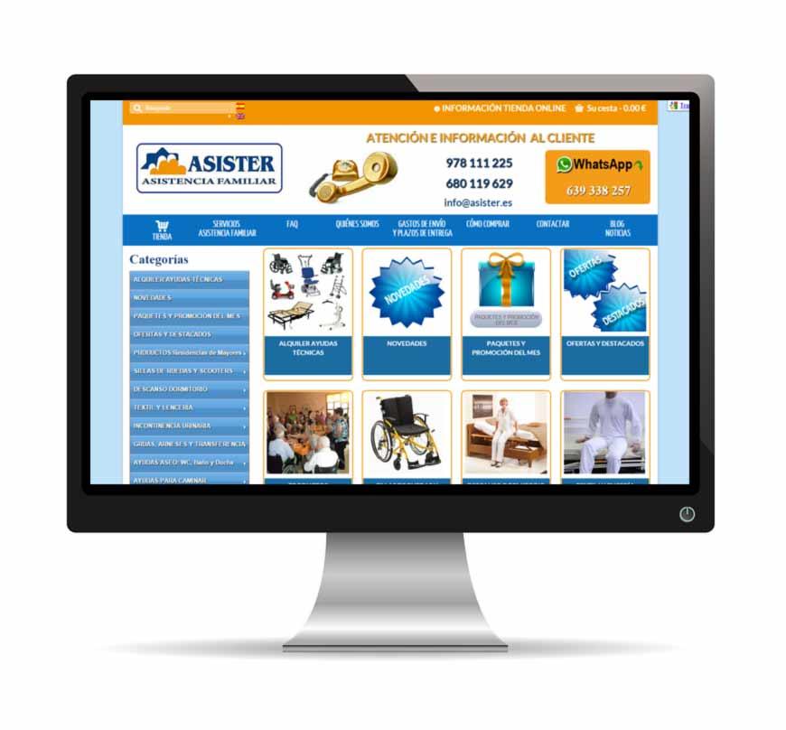 asister tienda online