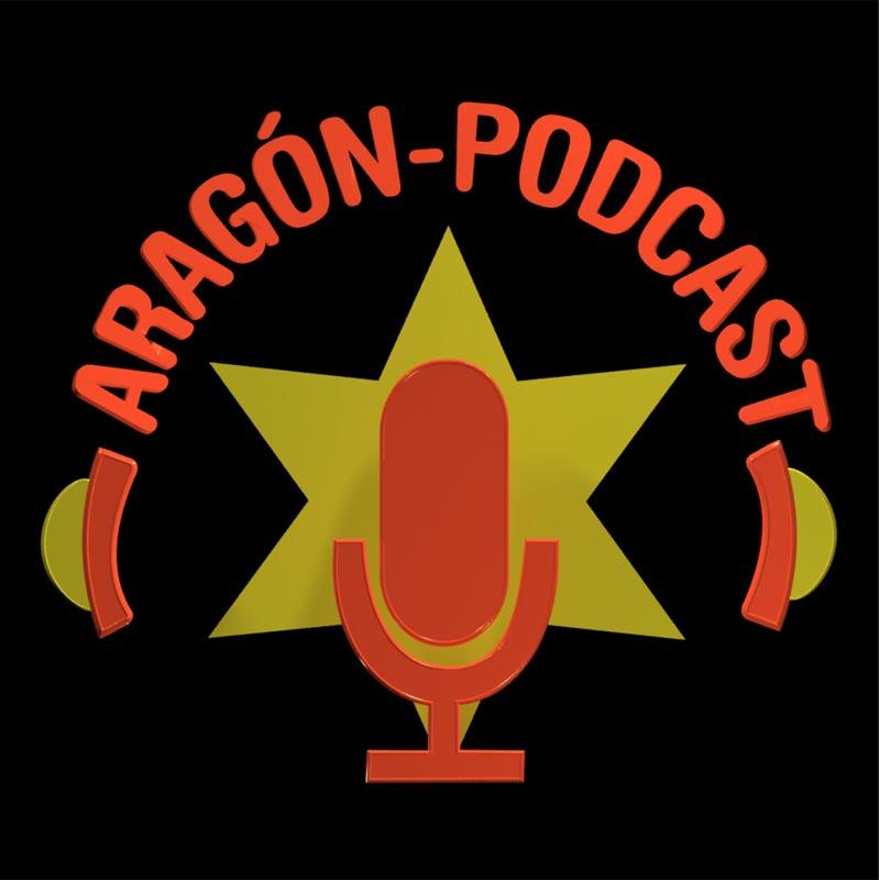 Aragón Podcast logo - Msalas Kreación