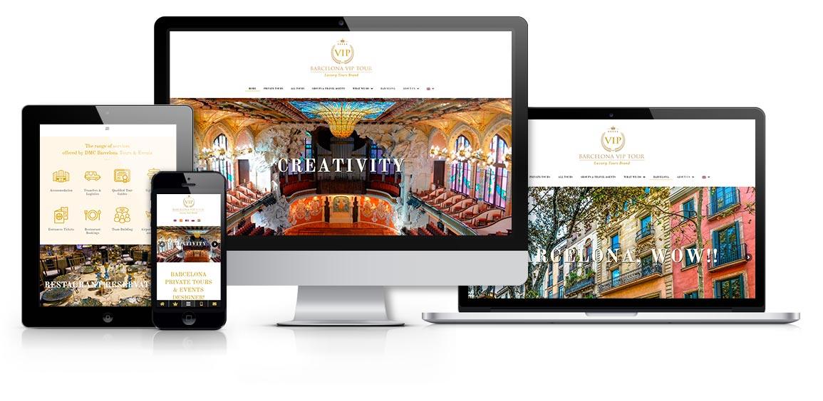 Barcelona Vip tour Luxury Tours Brand responsive