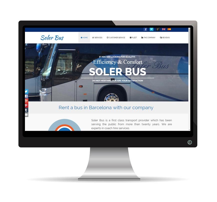 Soler Bus web - Msalas Kreación