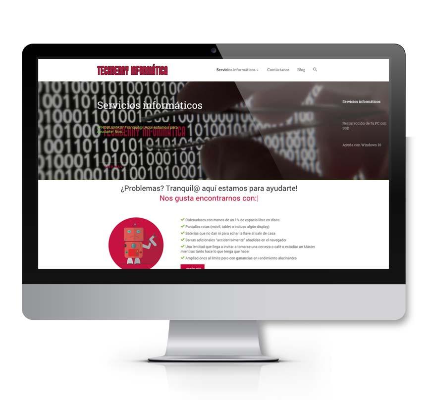techberry informática diseño web - Msalas Kreacion