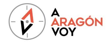 A Aragón voy logo diseño web - Msalas Kreación