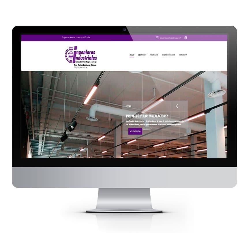 José Carlos Espinosa, Ingeniero Industrial - Diseño Web Msalas Kreación