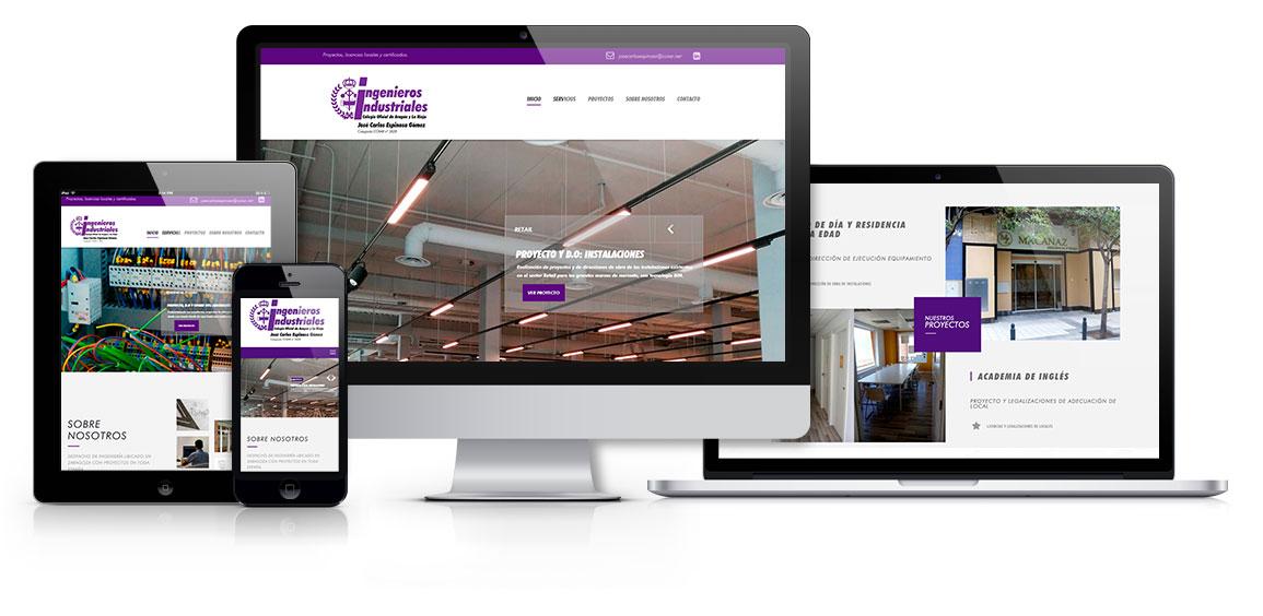 Jose Carlos Espinosa, diseño web responsive - Msalas Kreación