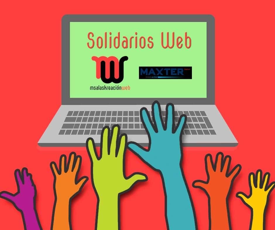 Solidarios web - msalaskreacion web