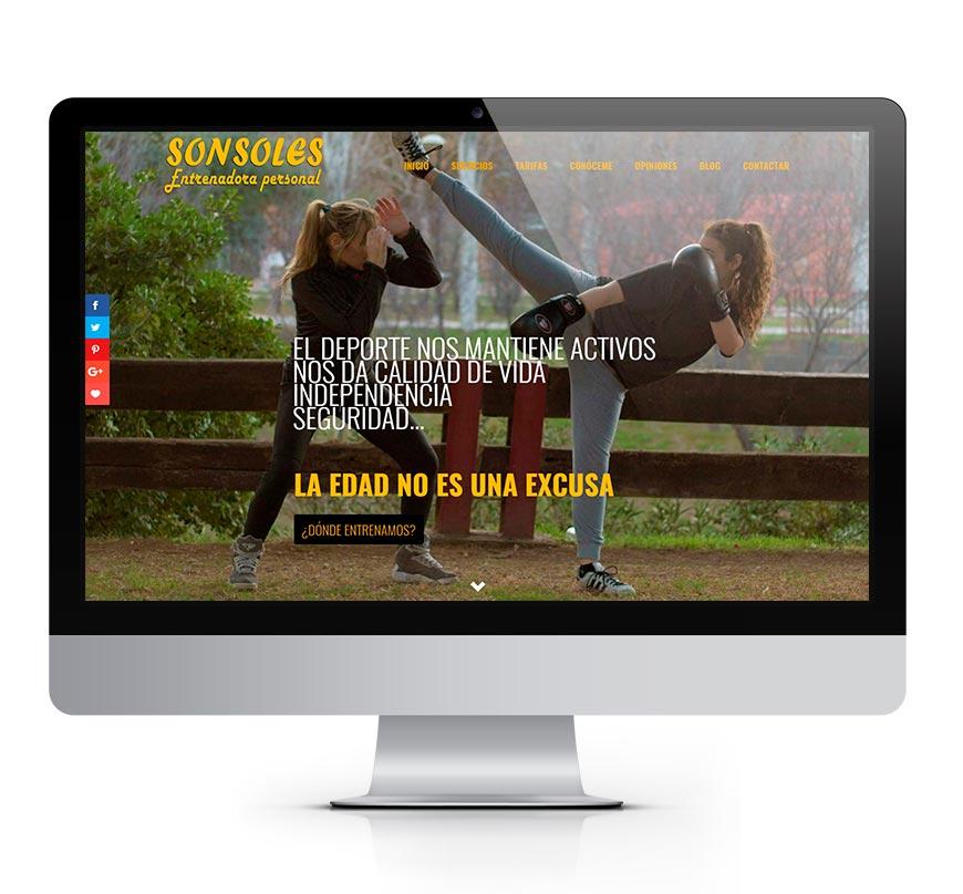 Zaragoza Entrenador Personal: Sonsoles 2
