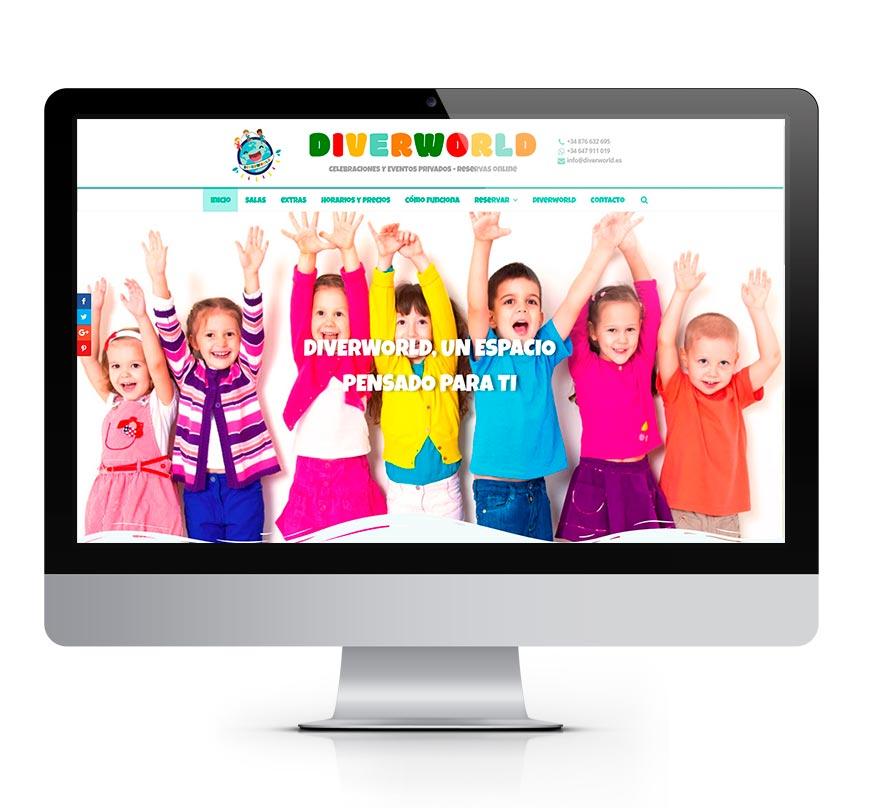 DiverWorld - Reservas Online monitor