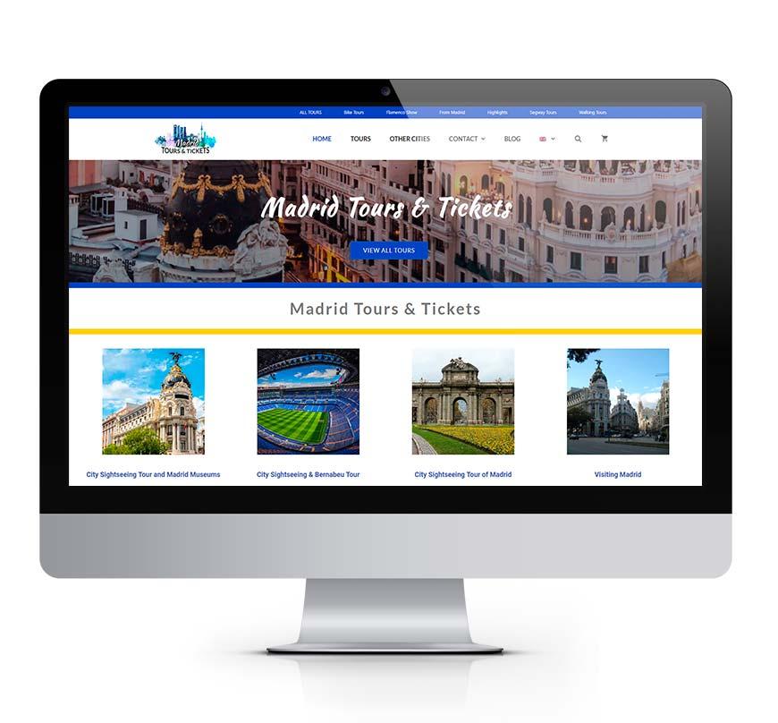 Madrid Tours & Tickets msalaskreacion web