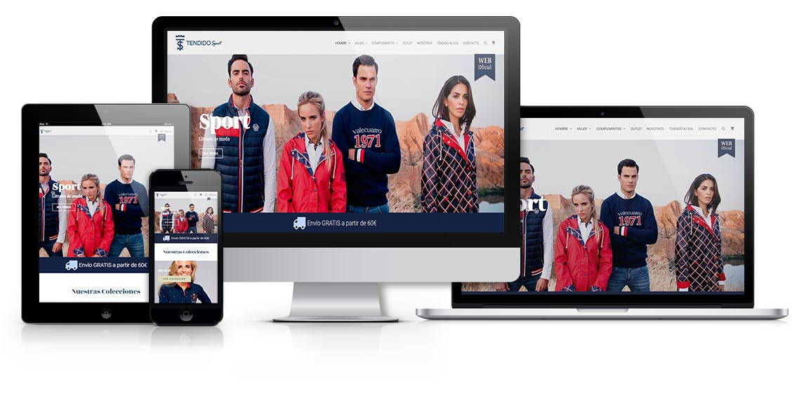 Tendido Sport tienda de moda 2 - msalaskreación web