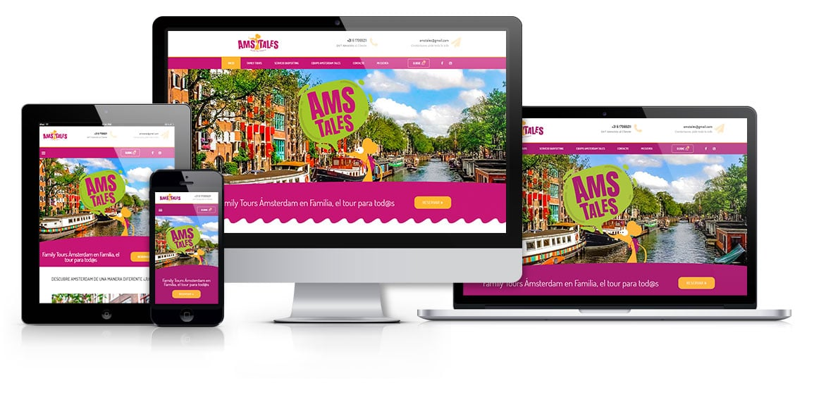 Amsterdam Tales Family Tours responsive