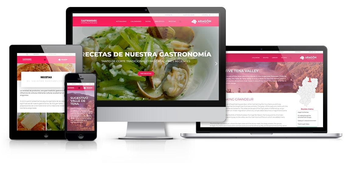 Gastronomía Aragonesa Turismo de Aragón msalaskreación web