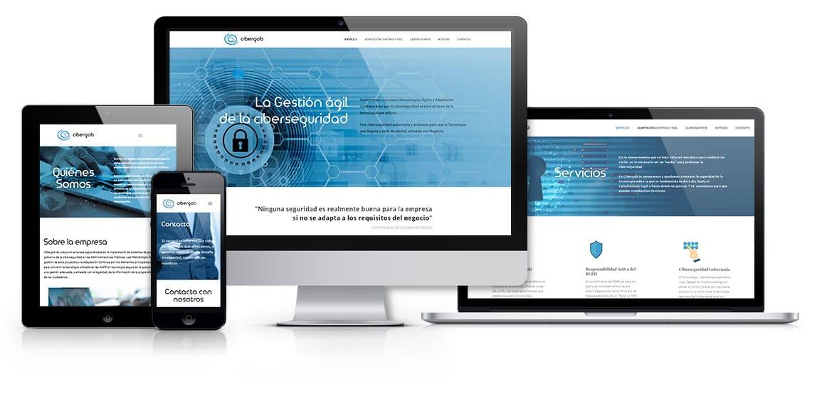 Cibergob Trabajos web msalaskreación web responsive