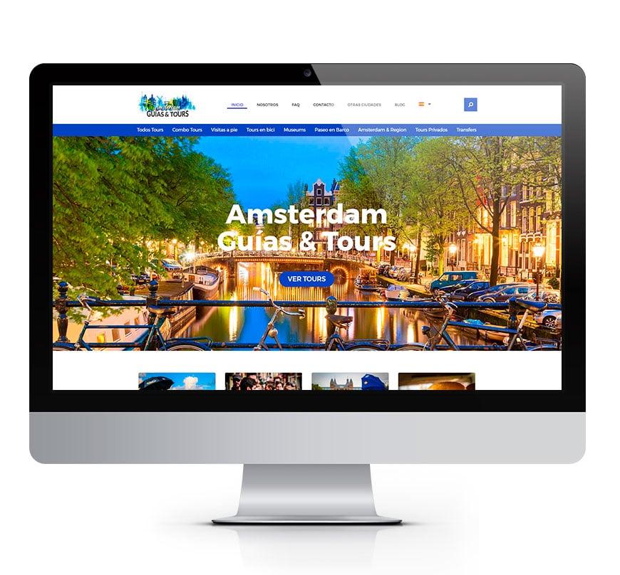 Diseño web Amsterdam guías