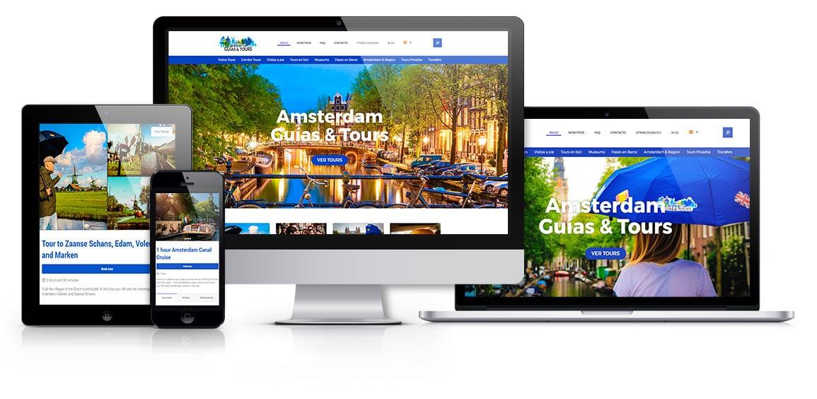 Amsterdam Guías diseño responsive