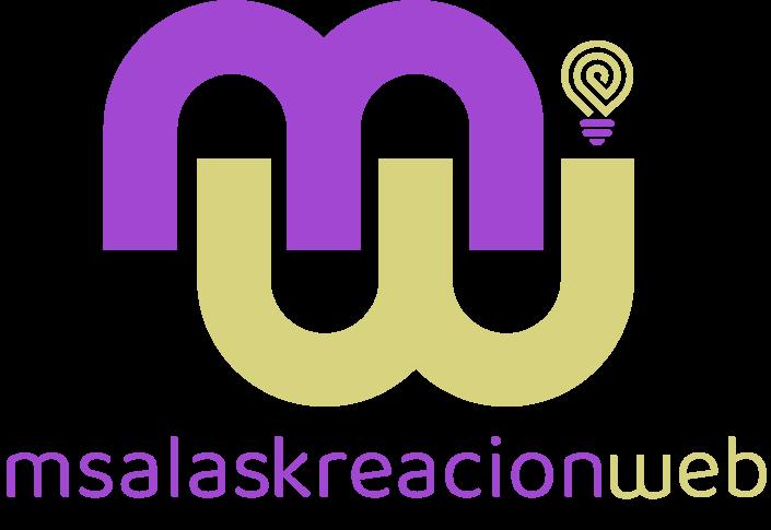 Logo MSalaskreación web