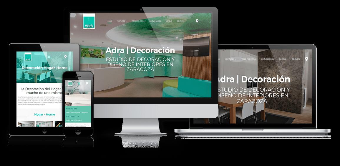 Adra Decoración e Interiorismo renovación web