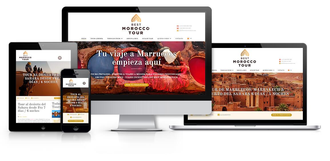 Best Morocco Tour web responsive