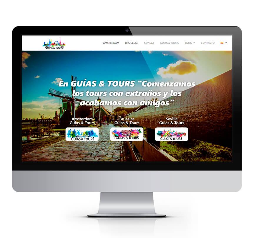 Web Guías & Tours