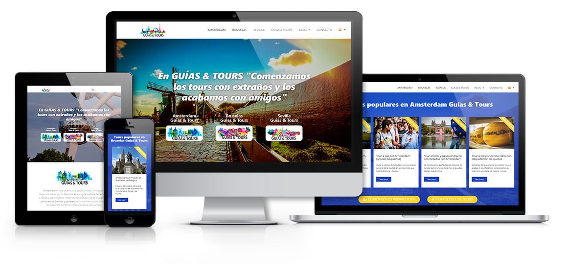 Web Guías & Tours responsive